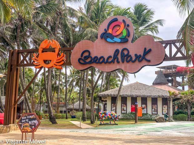 Entrada do Beach Park
