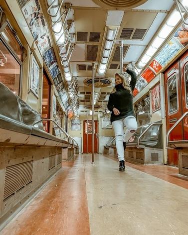 cinco spots incríveis em Nova York para fotos tumblr para instagram- Museu de Trânsito de Nova York