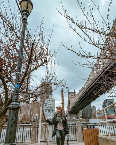 cinco spots incríveis em Nova York para fotos tumblr para instagram- Roosevelt Island