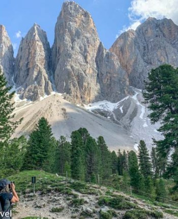 Dolomitas nos Alpes Italianos
