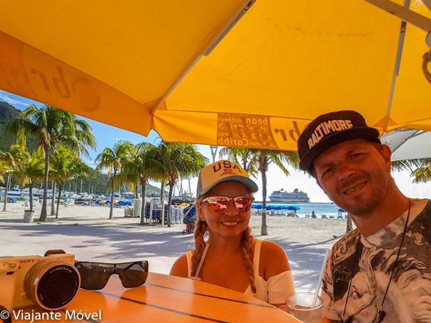 O que fazer em Saint Maarten: caminhar pela Boardwalk