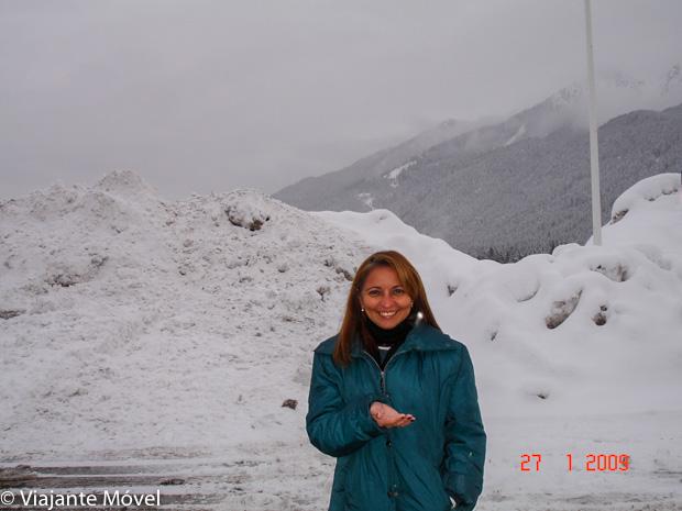 O que fazer em Cortina d'Ampezzo - neve-Inverno