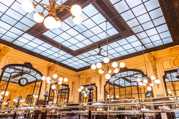 Paris na Chuva: O que fazer- Cervejaria Bouillon-Chartier