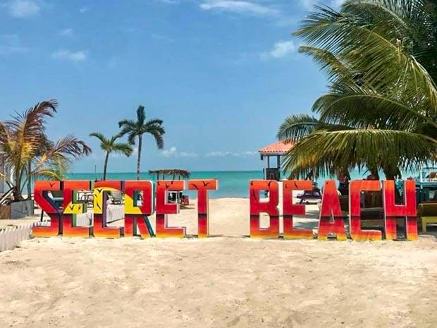 Secret Beach Praia em Belize