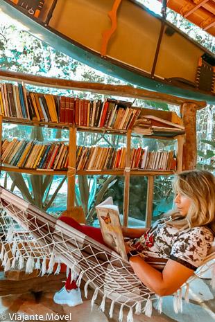 Biblioteca, uma rede e Livros de Viagem Gratuitos