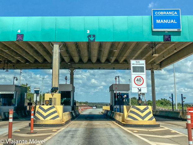 Pedágio 040 Viagem de carro de Brasília ao Rio de Janeiro
