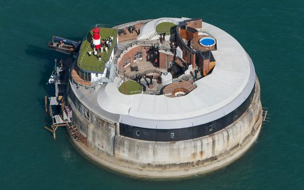 Spitbank Fort Onde se hospedar na Inglaterra