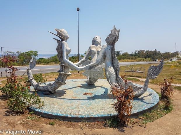 Estátua das Três Marias - O que fazer em Três Marias