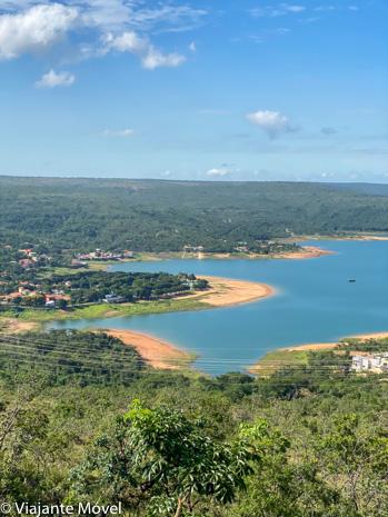 Vista panorâmica do lago Três Marias - O que fazer em Três Marias