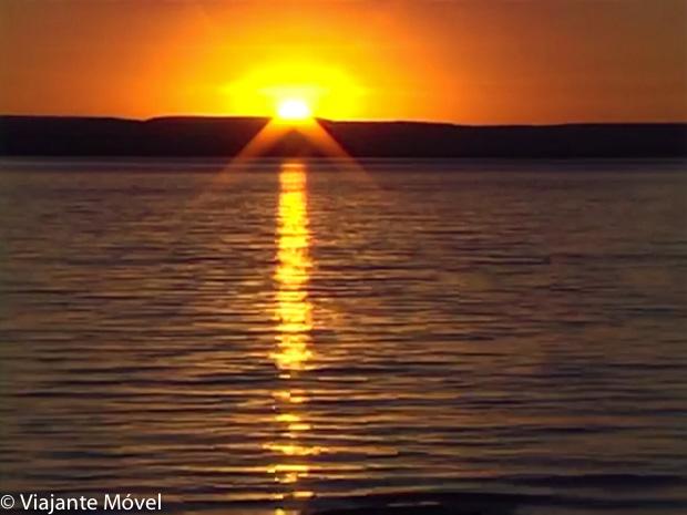Pôr do Sol na Represa - O que fazer em Três Marias