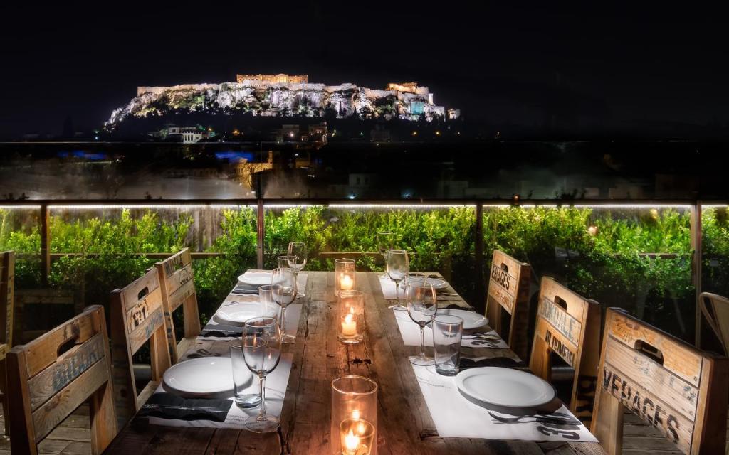 Rooftop em Atenas na Grécia-360 Degrees