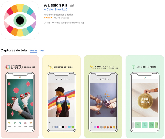 A Desigh Kit: aplicativos indispensáveis para criar Stories do Instagram