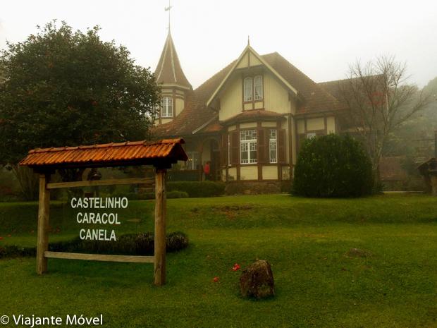 O que fazer em Canela, na Serra Gaúcha: Castelinho Caracol