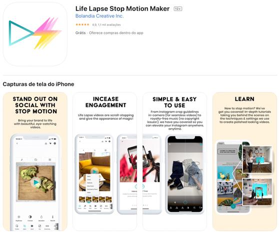 Life Lapse aplicativos indispensáveis para criar Stories do Instagram