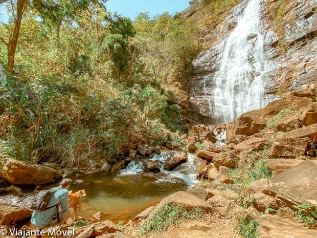 Cachoeira do Ramalho: explorando com nosso cachorro