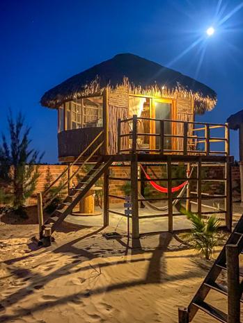 Incrível hospedagem em Jericoacoara no Ceará