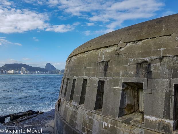 Como chegar no Forte de Copacabana, Rio de Janeiro