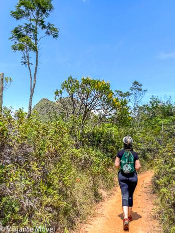 Quantos quilômetros na Trilha do Mangue em Tiradentes