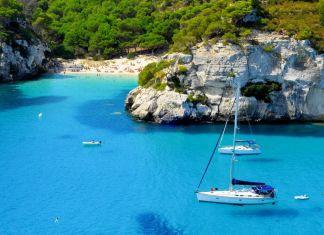 Calas y playas en Menorca