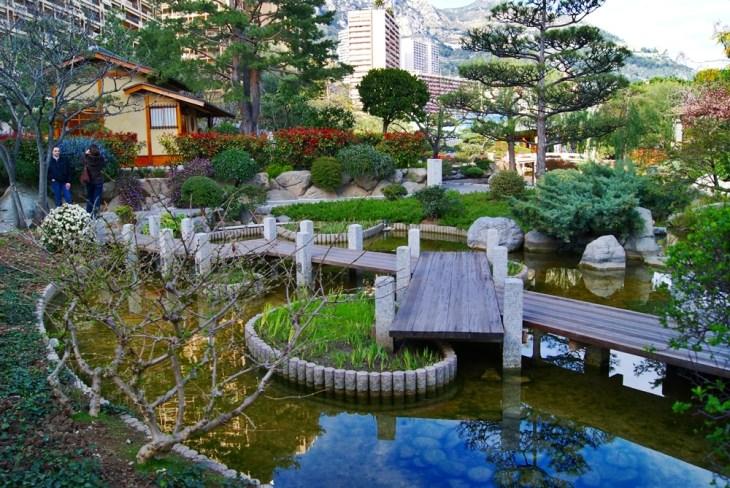 Jardín japonés, Monte Carlo, Mónaco - Viajar a Mónaco