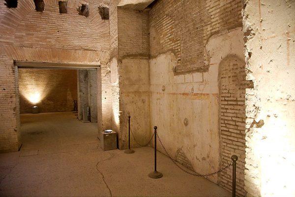 Domus Aurea en Roma foto de Matthias Kabel Wikimedia Commons