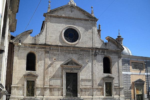 Santa Maria del Popolo - Roma foto di Gobbler Wikimedia Commons