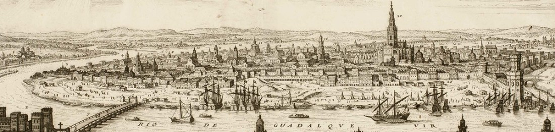 Veduta de Sevilla en el siglo XVI