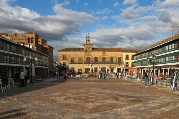 Plaza Mayor de Almagro, foto de Carlos Delgado; CC-BY-SA