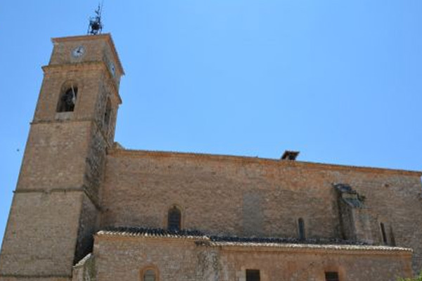 iglesia de santiago apostol de villanueva de alcardete