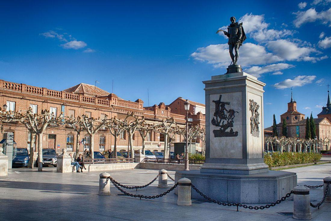 Alcalá de Henares foto de M Peinado Wikimedia Commons