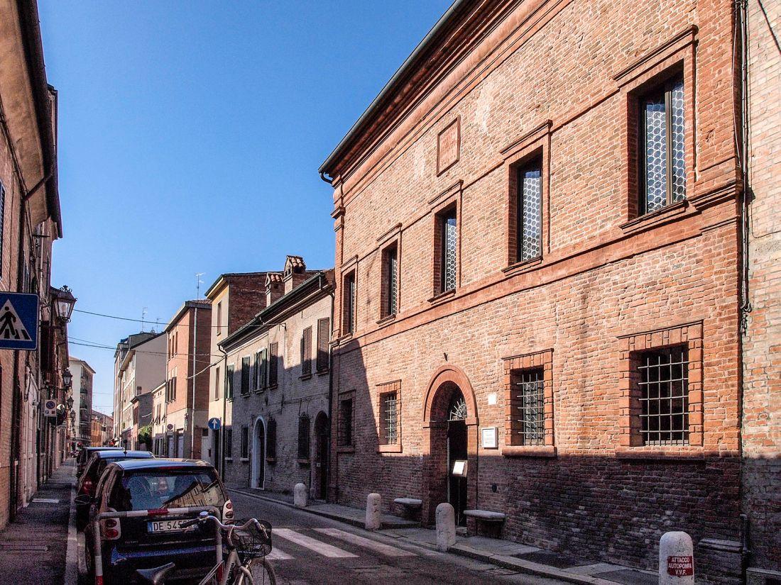 Casa de Ludovico Ariosto en Ferrara