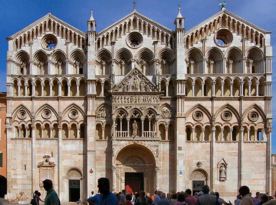 Catedral de San Jorge Martir en Ferrara