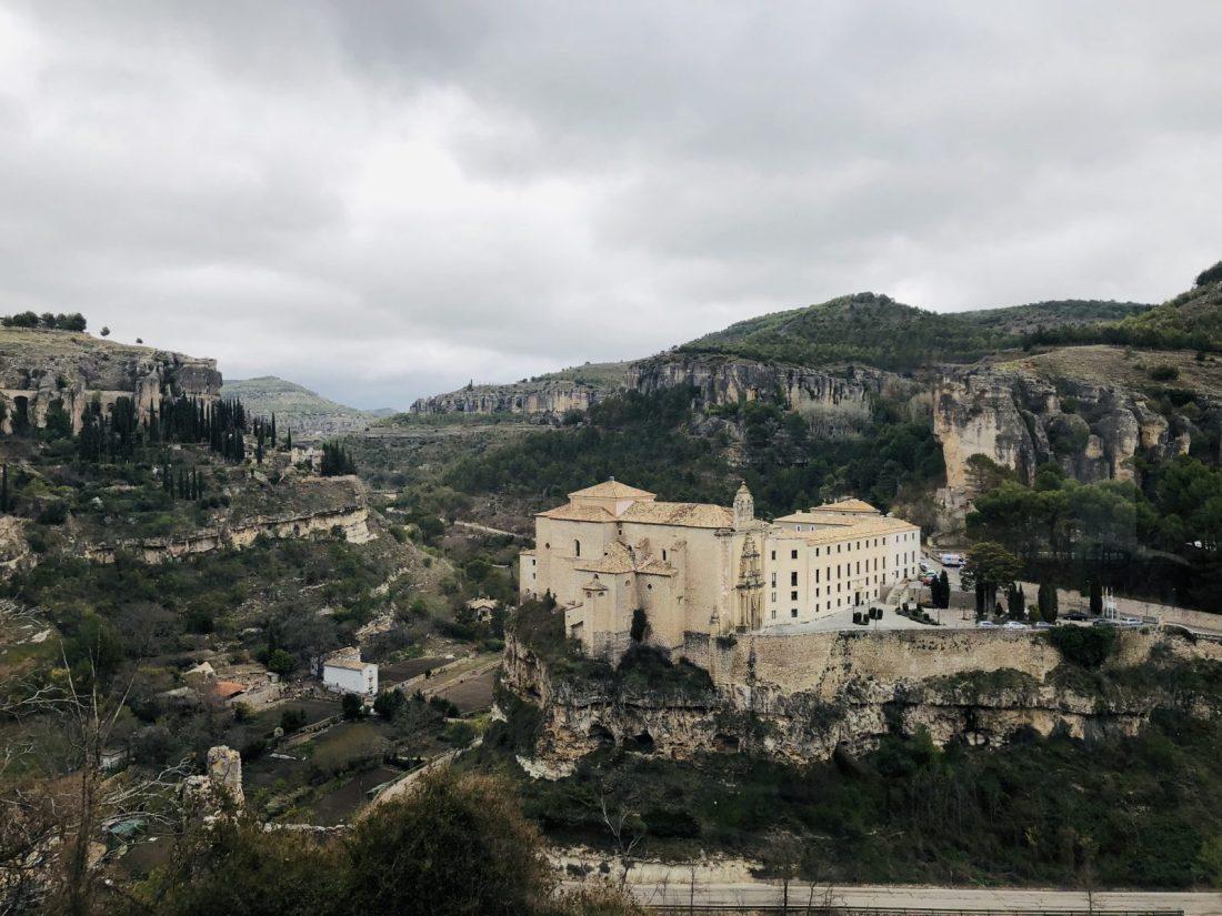 Vista del antiguo Convento de San Pablo desde la Posada de San José