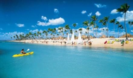Hermosa vista de la Playa Bayahibe
