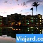 Atardecer en el Resort Ocean Blue en Punta Cana