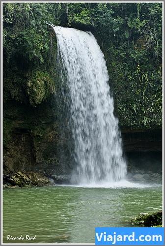 salto de socoa,Rio Socoa , Provincia Monte Plata  por Ricardo Read