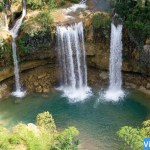Las Tres Cascadas de Sierra de Agua