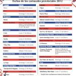 Calendario de Actividades del Carnaval Dominicano 2012