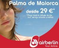 Air Berlin anuncia bilhetes de avião low cost