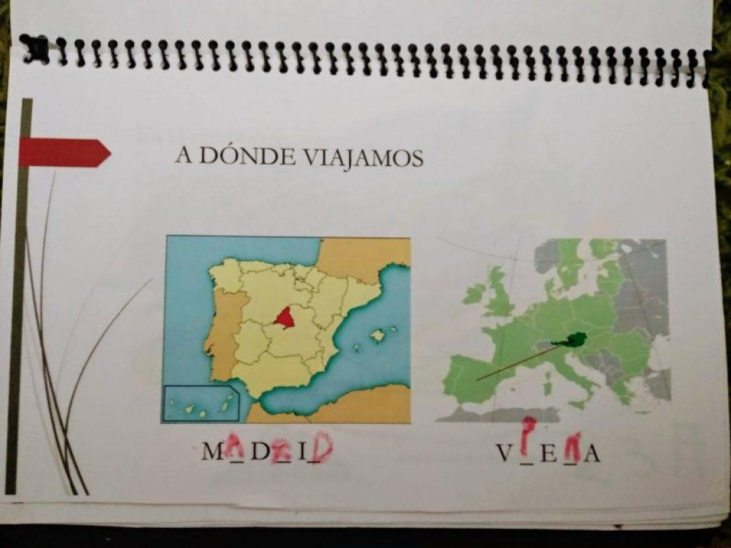 Pasaporte lúdico de Viena. Ubicación en mapa