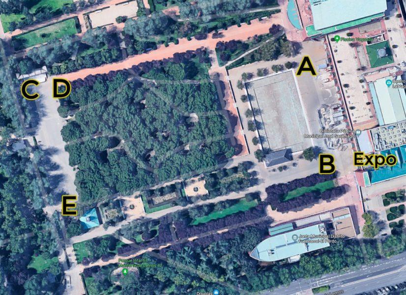 MADn Circus Festival mapa