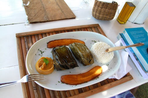 peixe em casca de banana brasil