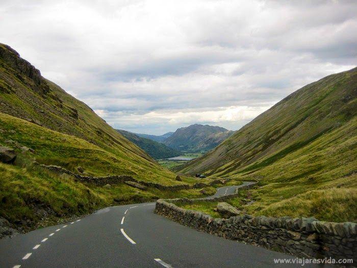 Kirkstone Pass en Lake District