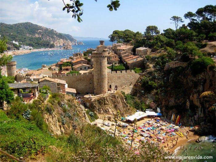 Tossa de Mar, uno de los pueblos más bonitos de Cataluña