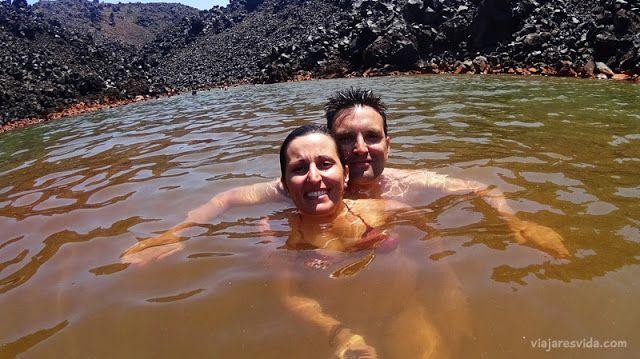 Palea Kameni en Santorini