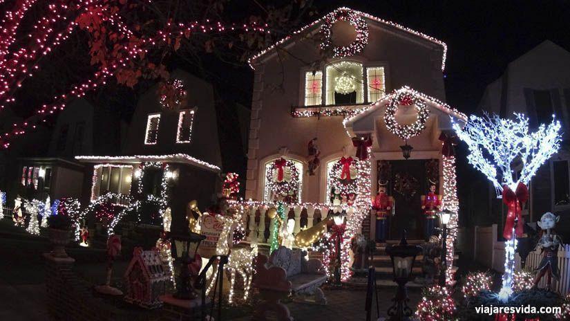 Casas decoradas de navidad en Dyker Heights