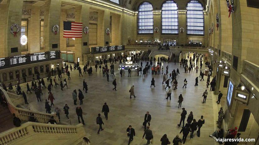 Grand Central Terminal de Nueva York. Qué ver en Nueva York en una semana