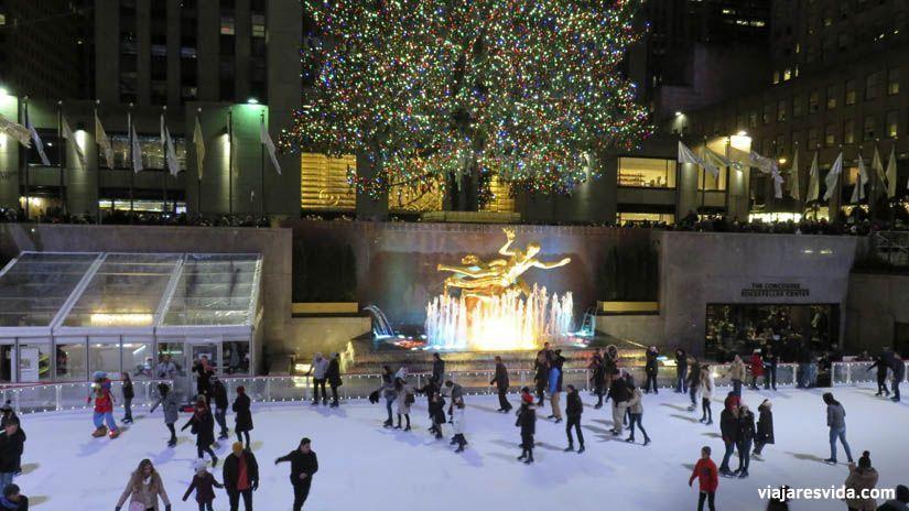 Rockefeller Center de Nueva York.  Qué ver en Nueva York en una semana