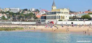 La playa de Estoril. Viajar esvida.