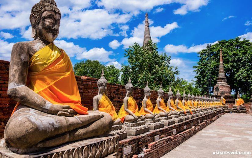 Ayuthaya, Tailandia. Viajar es vida.